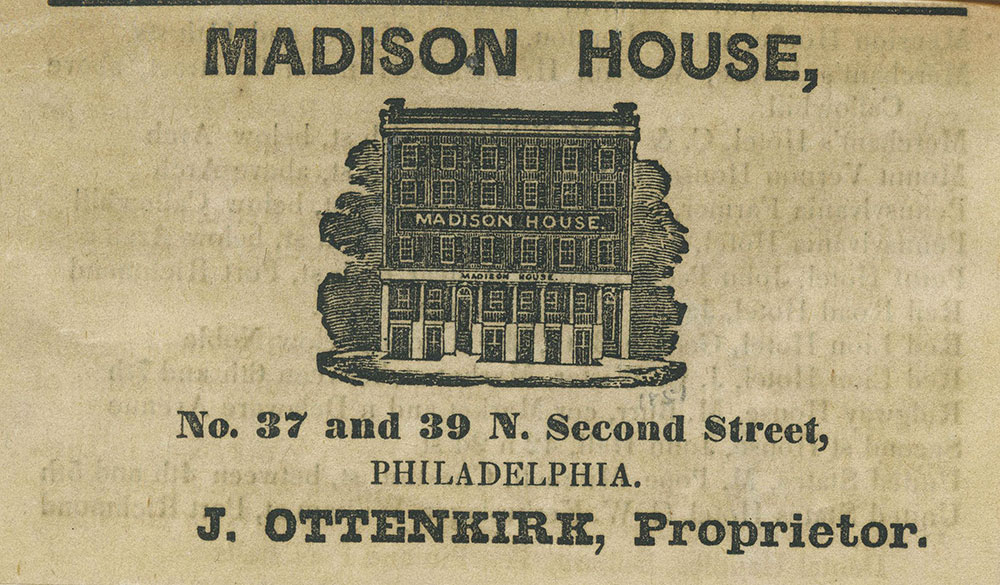 Madison House [graphic]