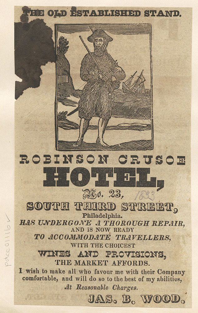 Robinson Crusoe Hotel (Advertisement)