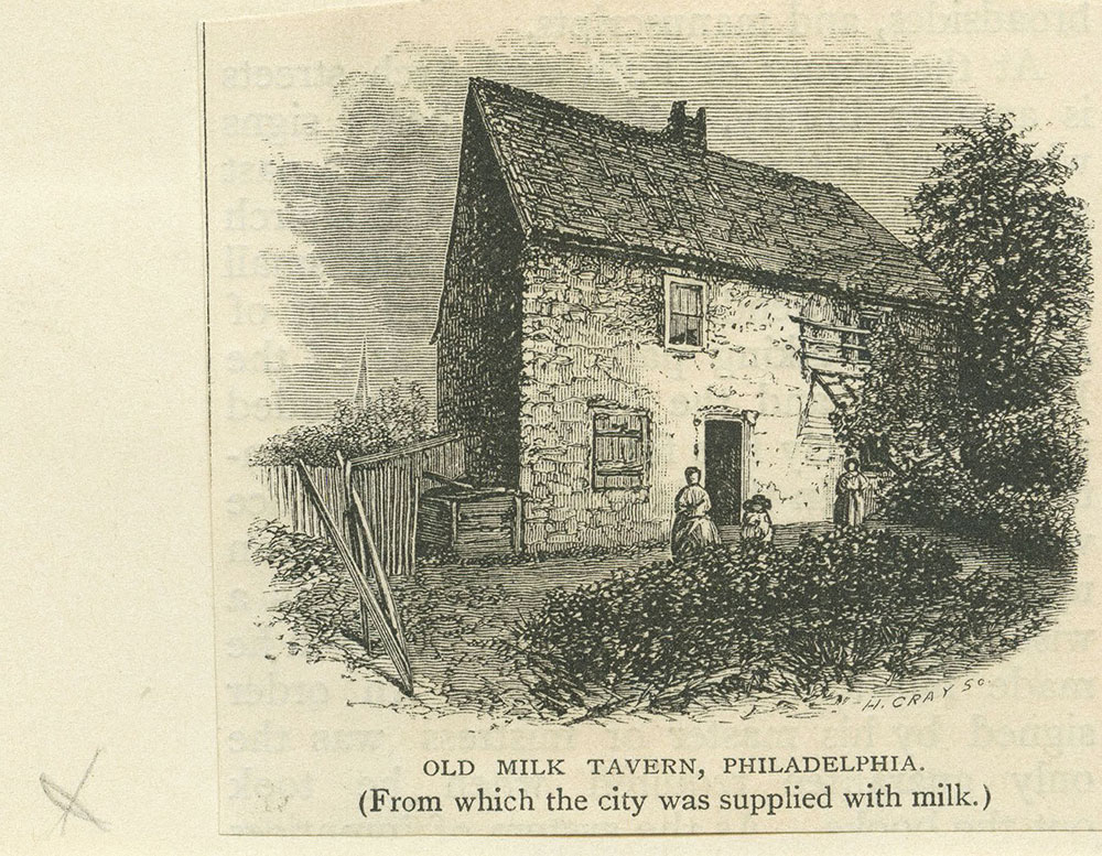 Old Milk Tavern, Philadelphia.