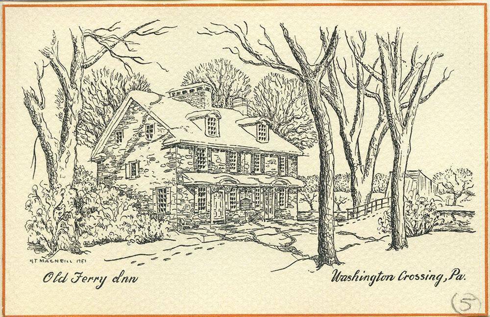 Old Ferry Inn. Washington Crossing, Pa.