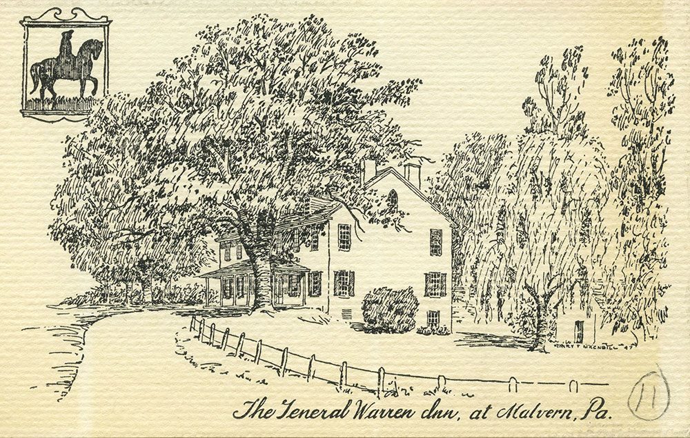 The General Warren Inn, at Malvern, Pa.