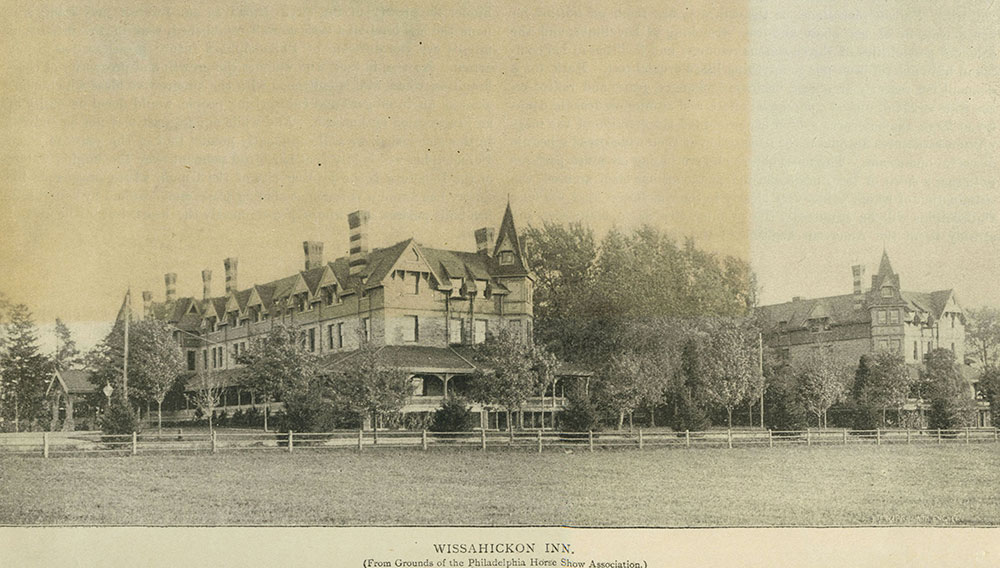 Wissahickon Inn. (From Grounds of the Philadelphia Horse Show Association.)