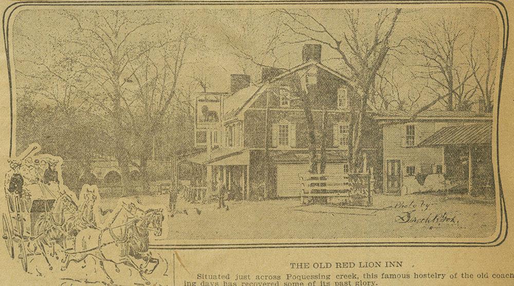 The Red Lion Inn.