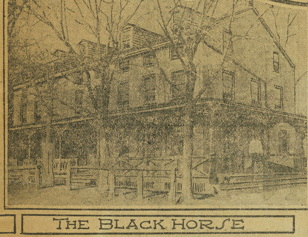 Black Horse Inn [graphic] -  Delaware County