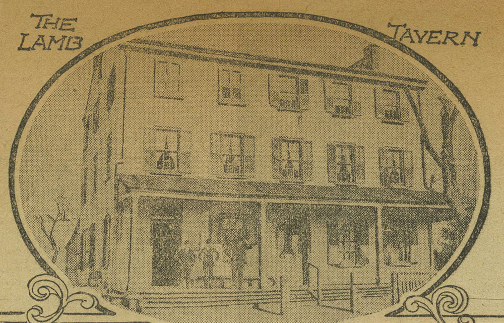 The Lamb Tavern [graphic] - Delaware County