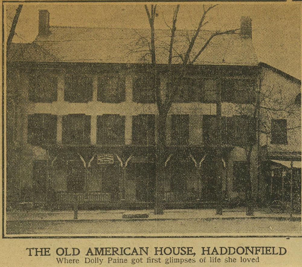 American House - Haddonfield, N.J.