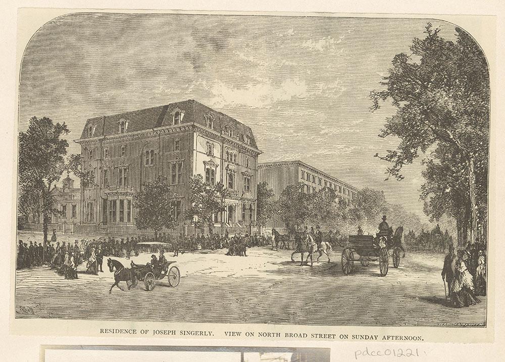 Residence of Joseph Singerly.