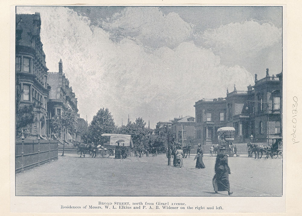Broad Street, North from Girard Avenue