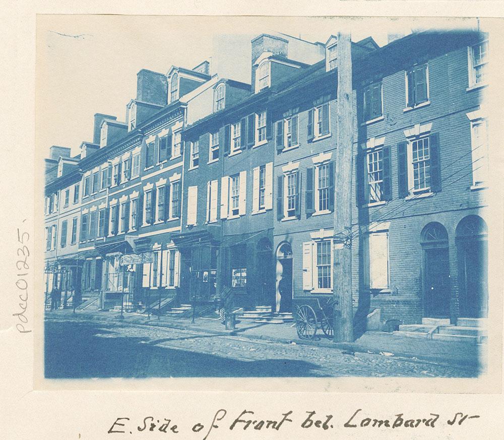 Front Street below Lombard Street