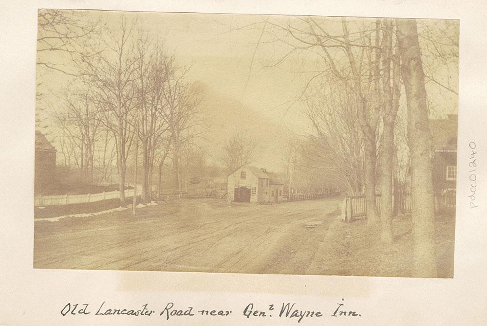 Old Lancaster Road near General Wayne Inn.
