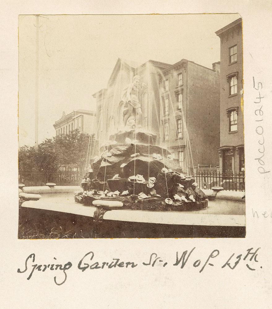 Spring Garden Street, West of Thirteenth.