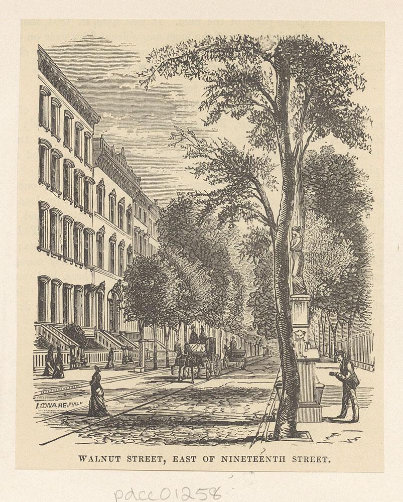 Walnut Street, East of Nineteenth Street.