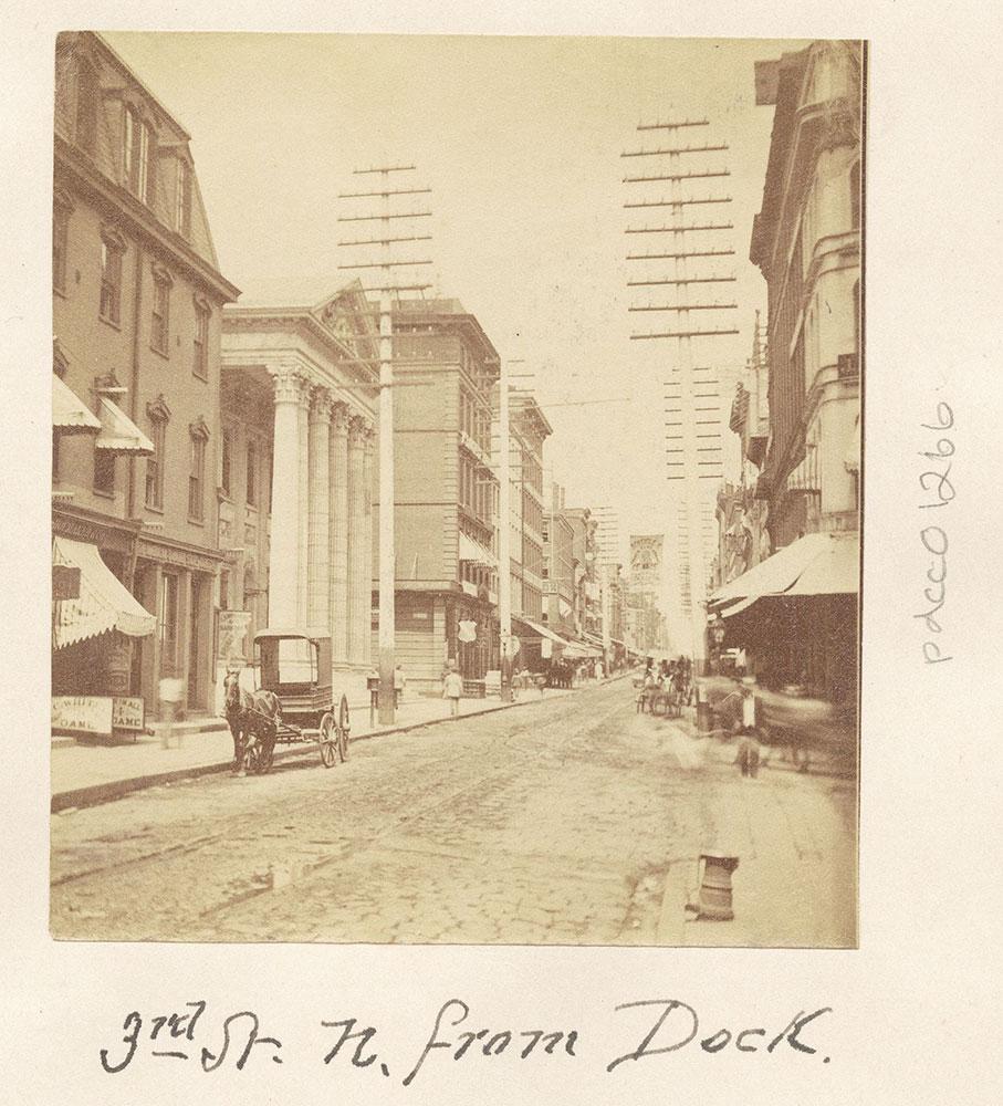 Third Street, North from Dock Street.