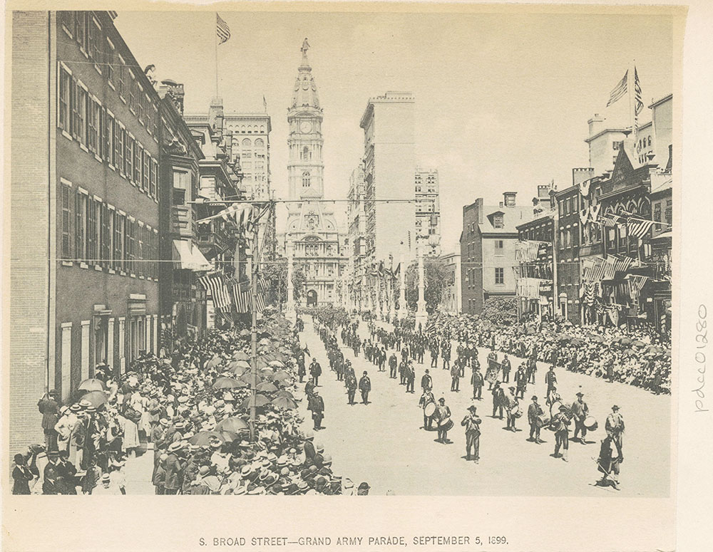S. Broad Street - Grand Army Parade, September 5, 1899.