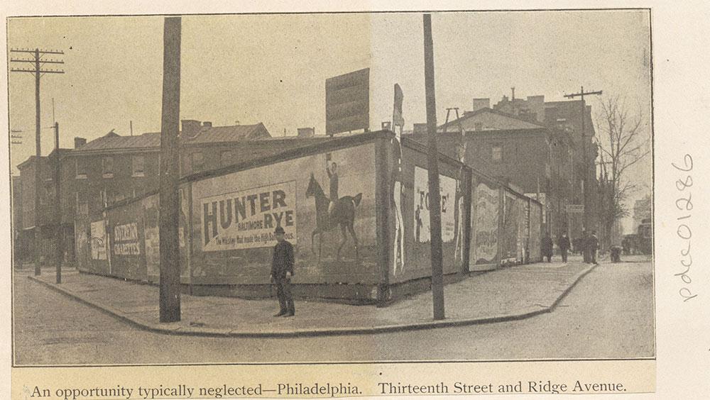 Thirteenth Street and Ridge Avenue
