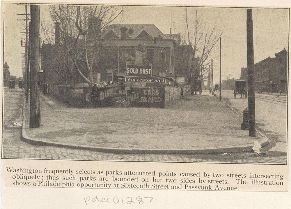 Sixteenth Street & Passyunk Avenue
