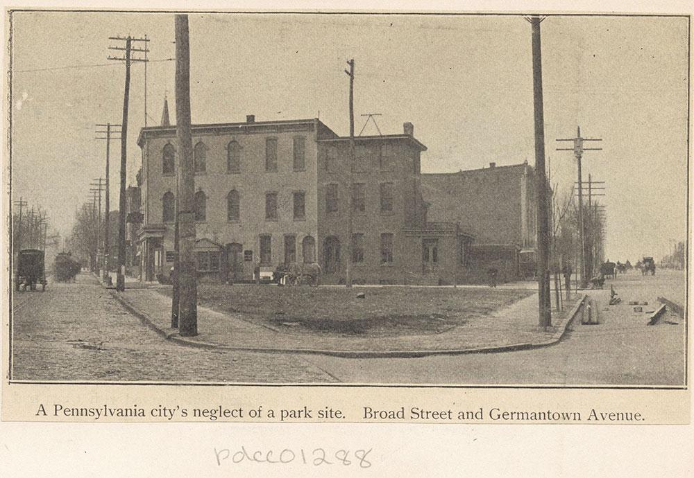 Broad Street and Germantown Avenue