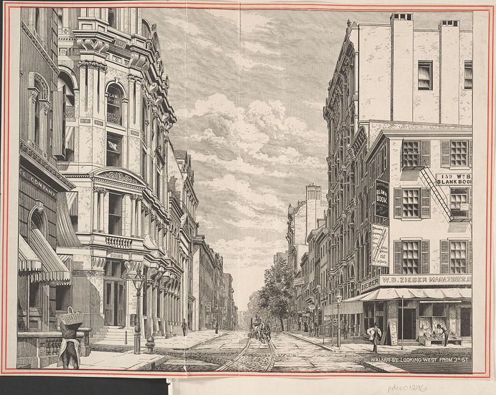 Walnut Street Looking West From 3rd.
