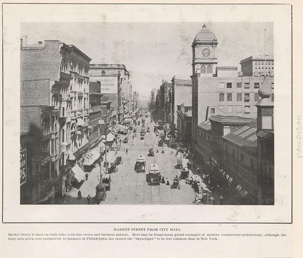Market Street from City Hall.