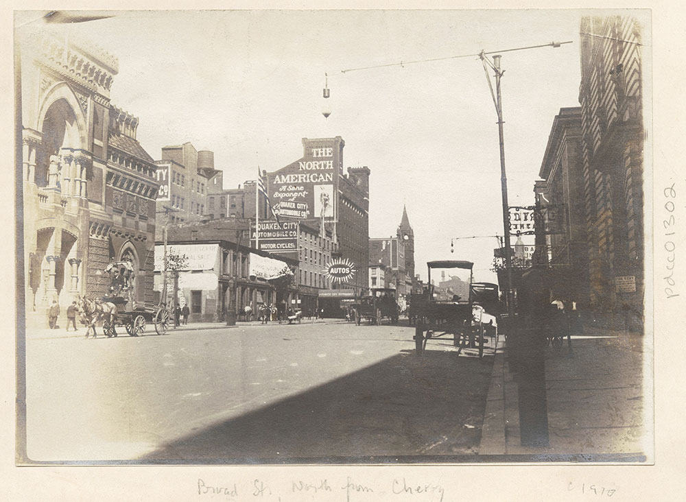 Broad Street, north from Cherry