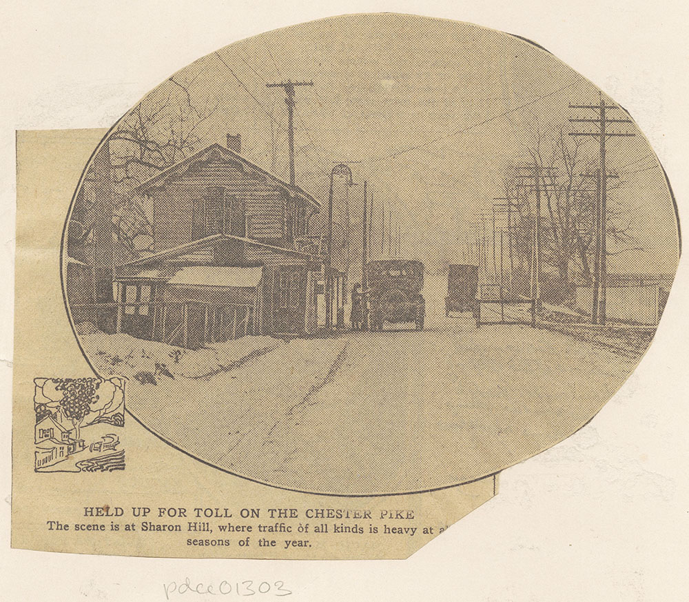 Toll House on Chester Pike