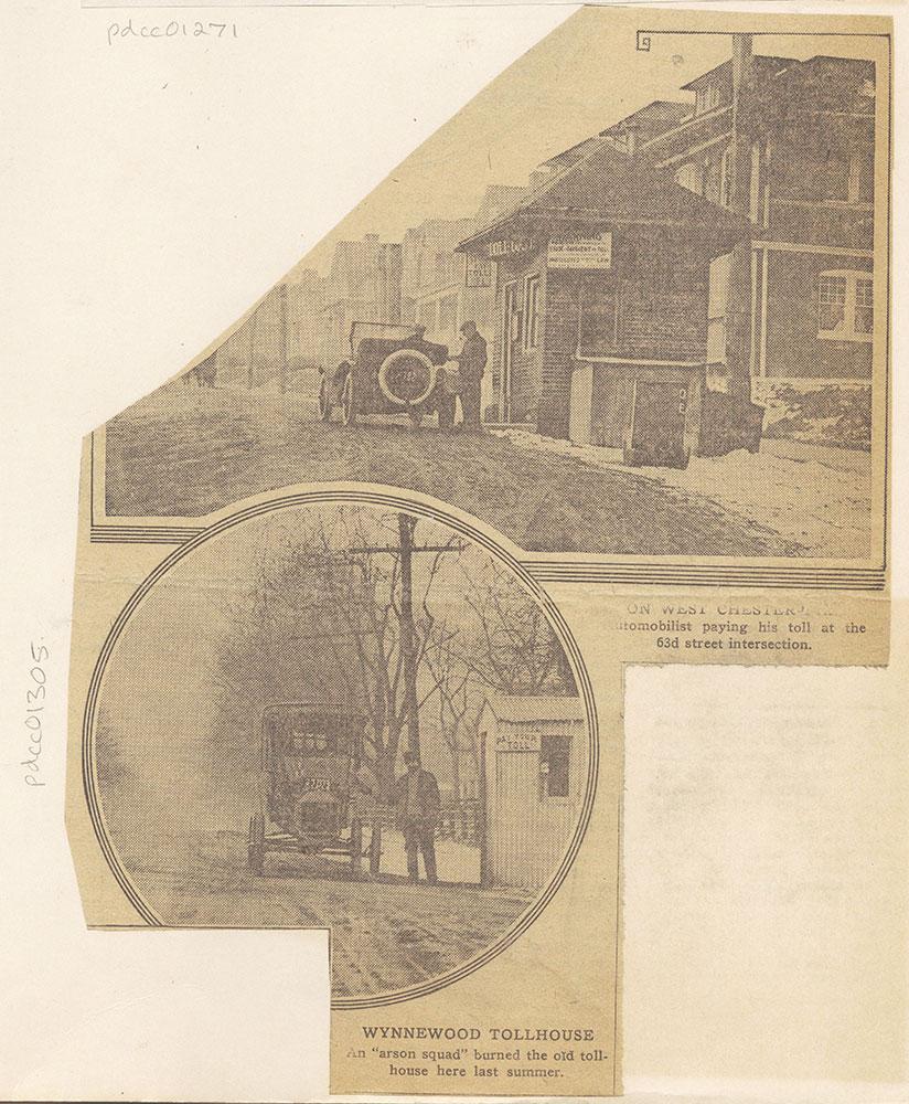 Toll houses near Philadelphia