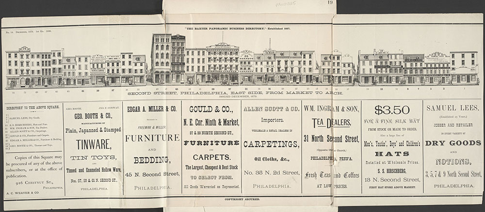 Baxter's Panoramic Business Directory, 1879