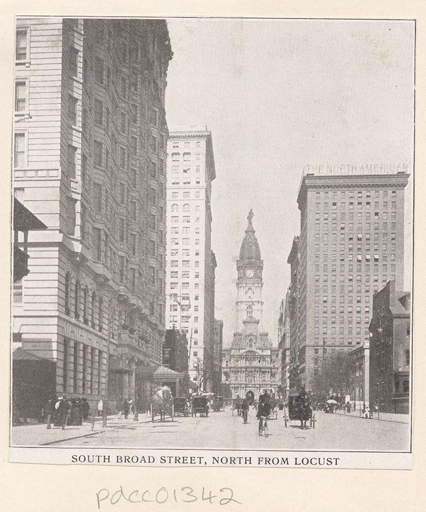 South Broad Street, North from Locust.