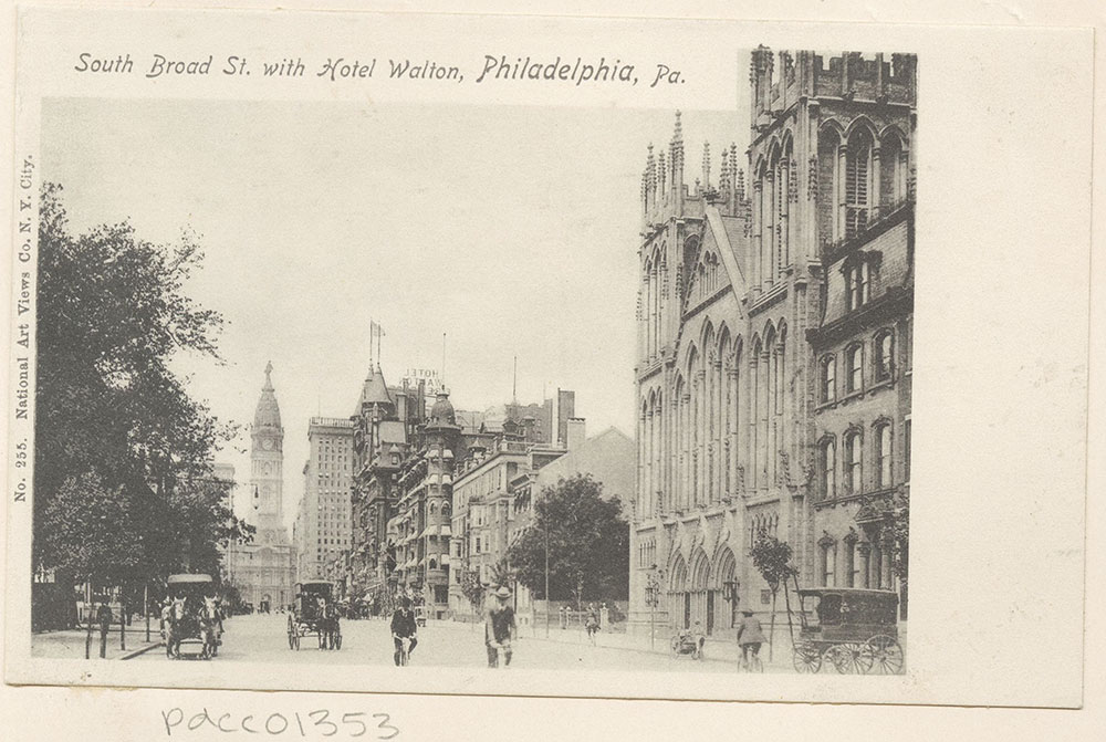 South Broad Street with Hotel Walton.