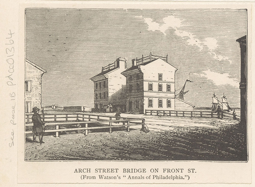 Arch Street Bridge on Front Street