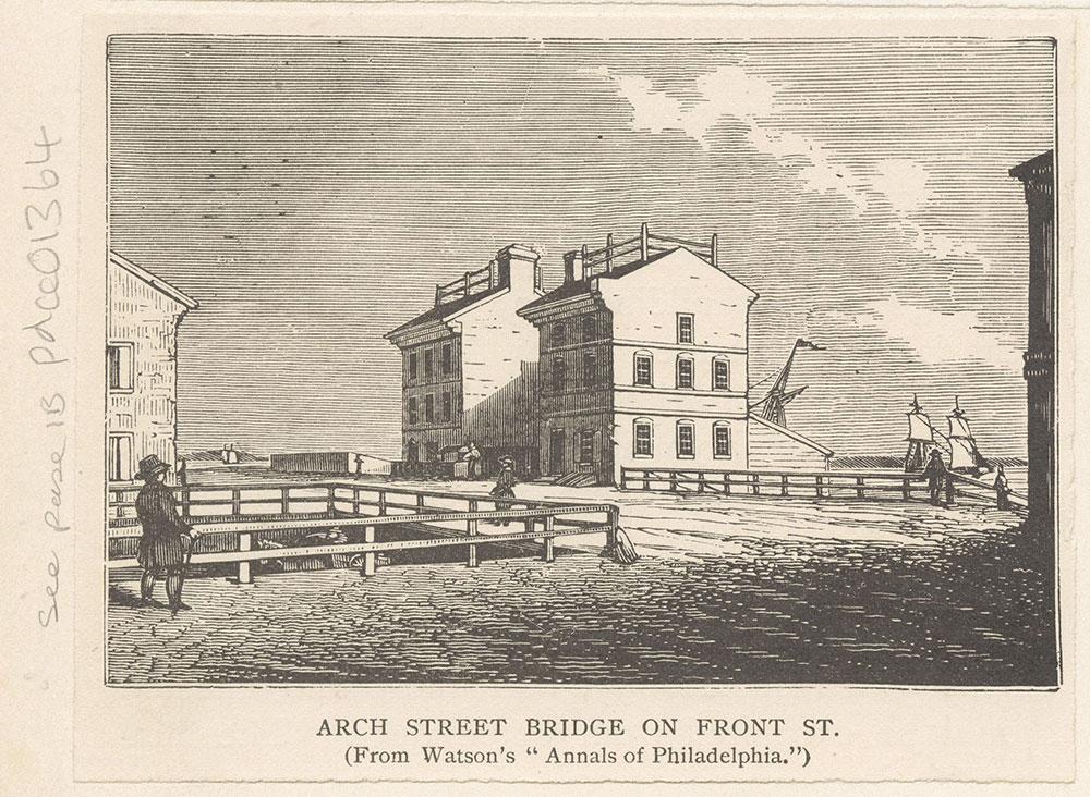 Arch Street Bridge on Front Street