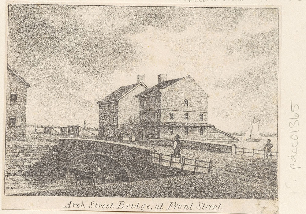 Arch Street Bridge, at Front Street
