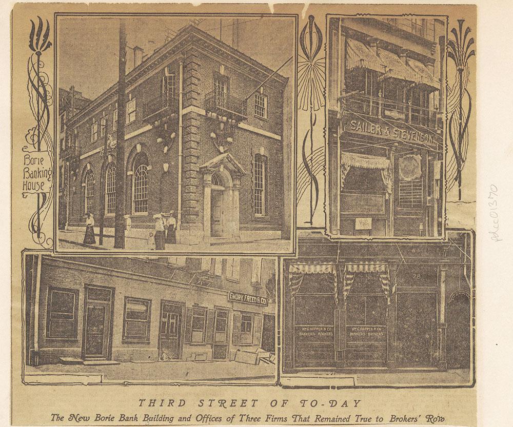 Third Street - Brokers' Row.
