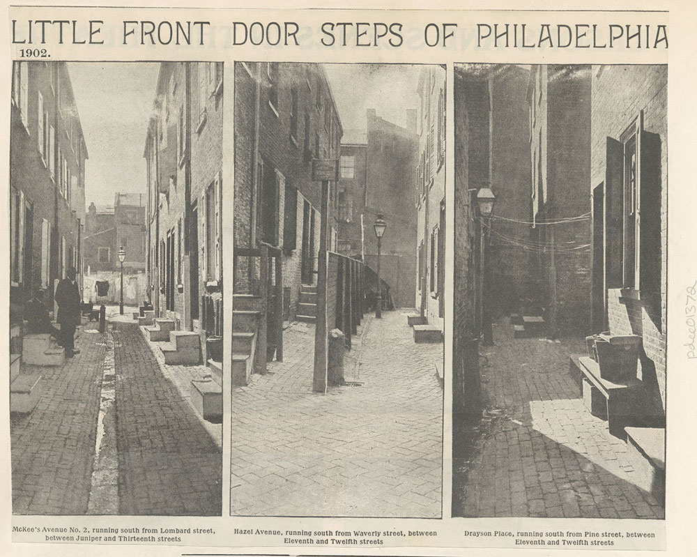 Little Front Door Steps of Philadelphia. 1902 & Little Front Door Steps of Philadelphia. 1902 - Digital ...