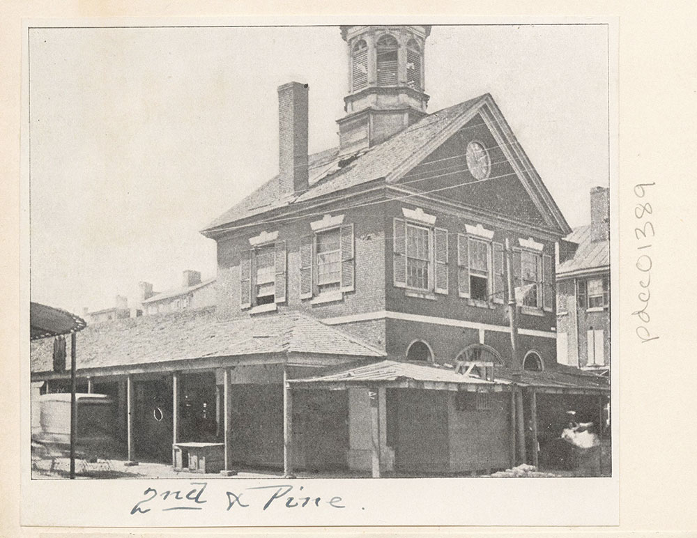 Market House, Second and Pine Streets