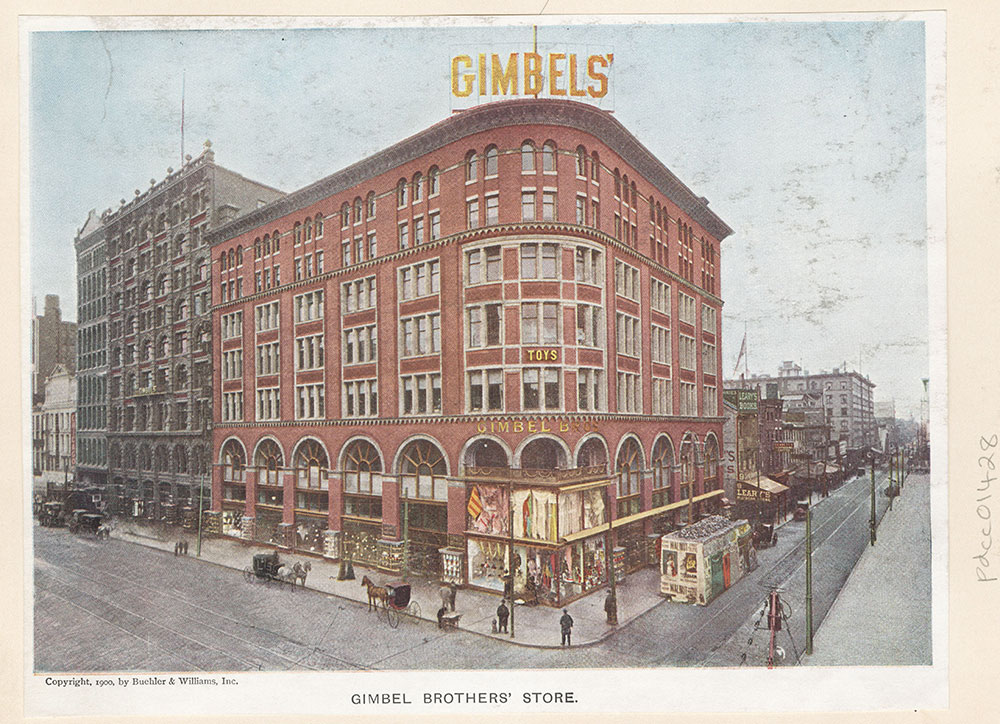 Gimbel Brothers' Store.