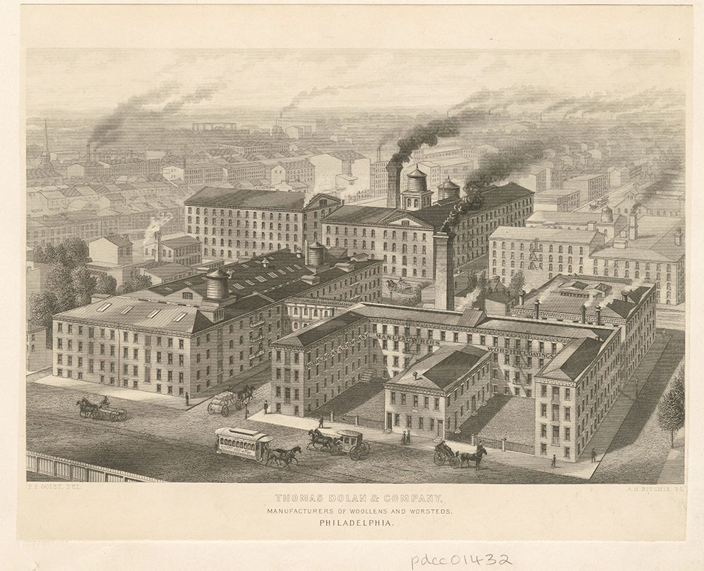 Thomas Dolan & Company, manufacturers of woollens and worsteds, Philadelphia.