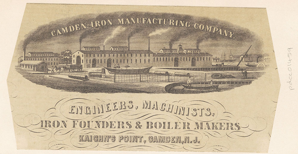 Camden Iron Manufacturing Company, Kaighn's Point, Camden, N. J. [graphic]