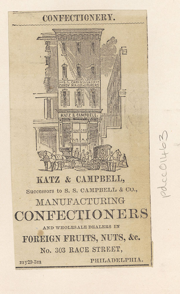 Katz & Campbell, manufacturing confectioners [graphic]