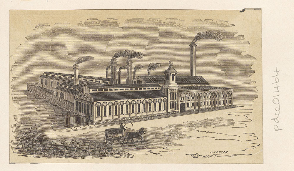 [Bement, Dougherty & Thomas Industrial Works] [graphic], 21st & Callowhill Streets.