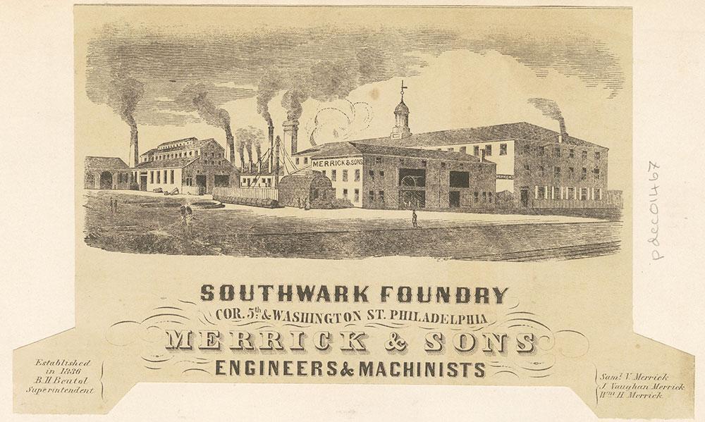 Southwark Foundry - Merrick & Sons [graphic]