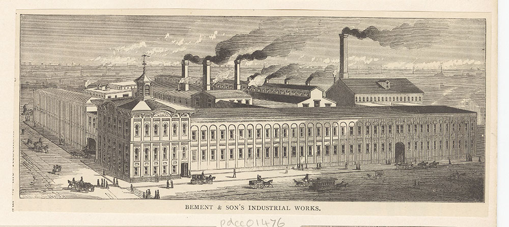 Bement & Son's Industrial Works [graphic]