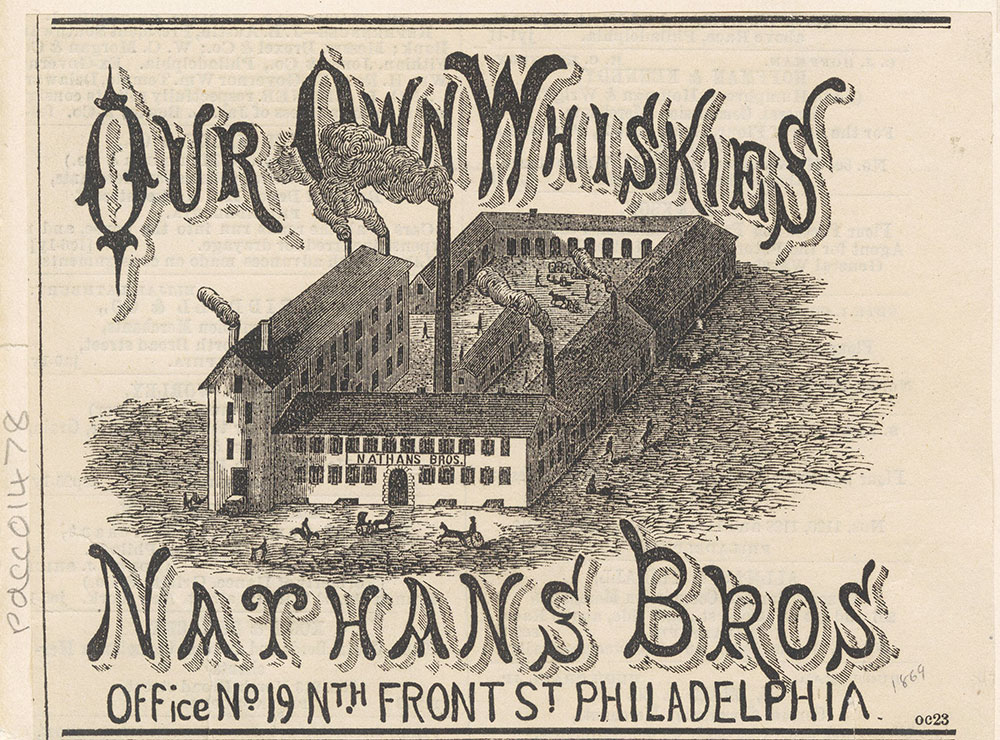 Nathan & Bros. - Our Own Whiskies [graphic]