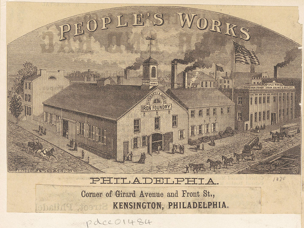 People's Works Iron Foundry, [Huntsworth & Naylor Iron Foundry] [graphic]