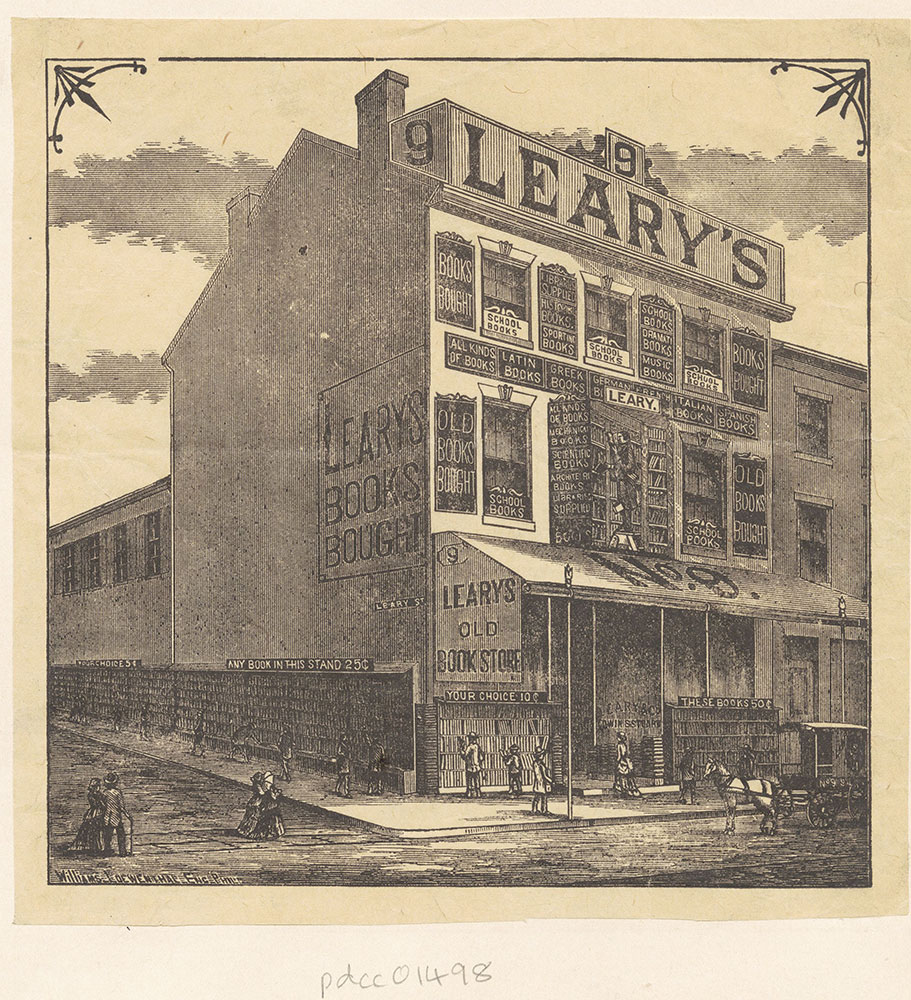 Leary's Old Bookstore [graphic]