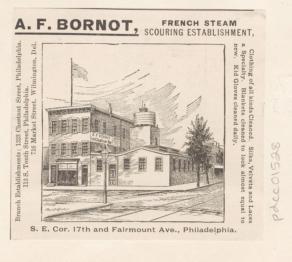A. F. Bornot. French steam scouring establishment [graphic]