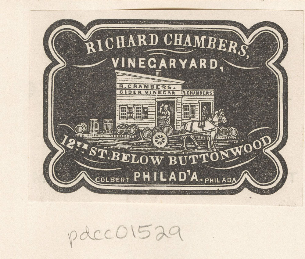 Richard Chambers, Vinegaryard, 12st below Buttonwood. [graphic]