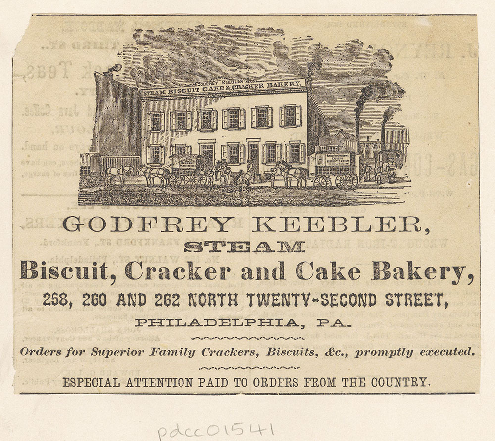 Godfrey Keebler, Steam Biscuit, Cracker and Cake Bakery [graphic]