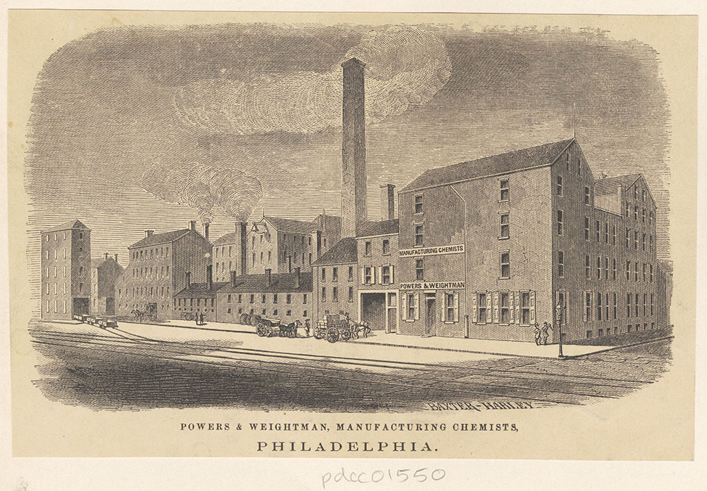 Powers & Weightman, manufacturing chemists, Philadelphia. [graphic]