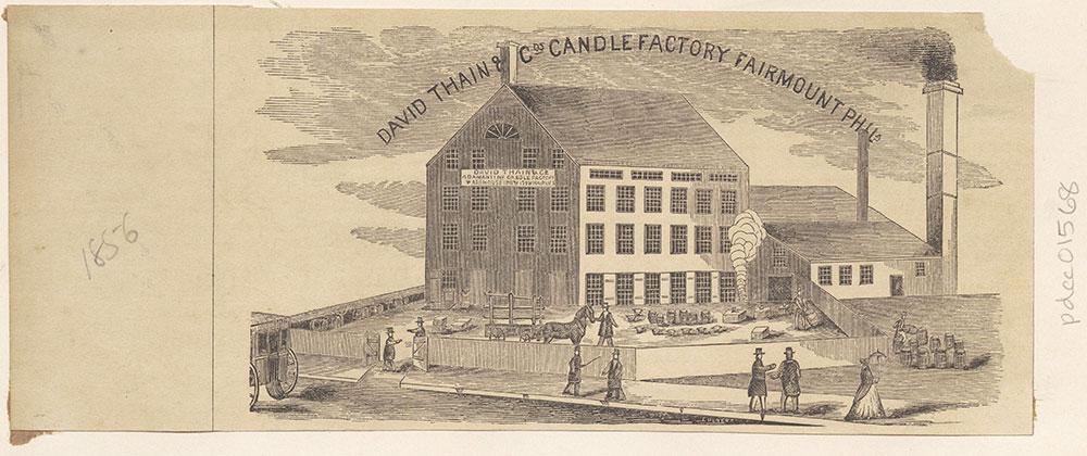 David Thain & C0. Candle Factory, Fairmount [graphic]